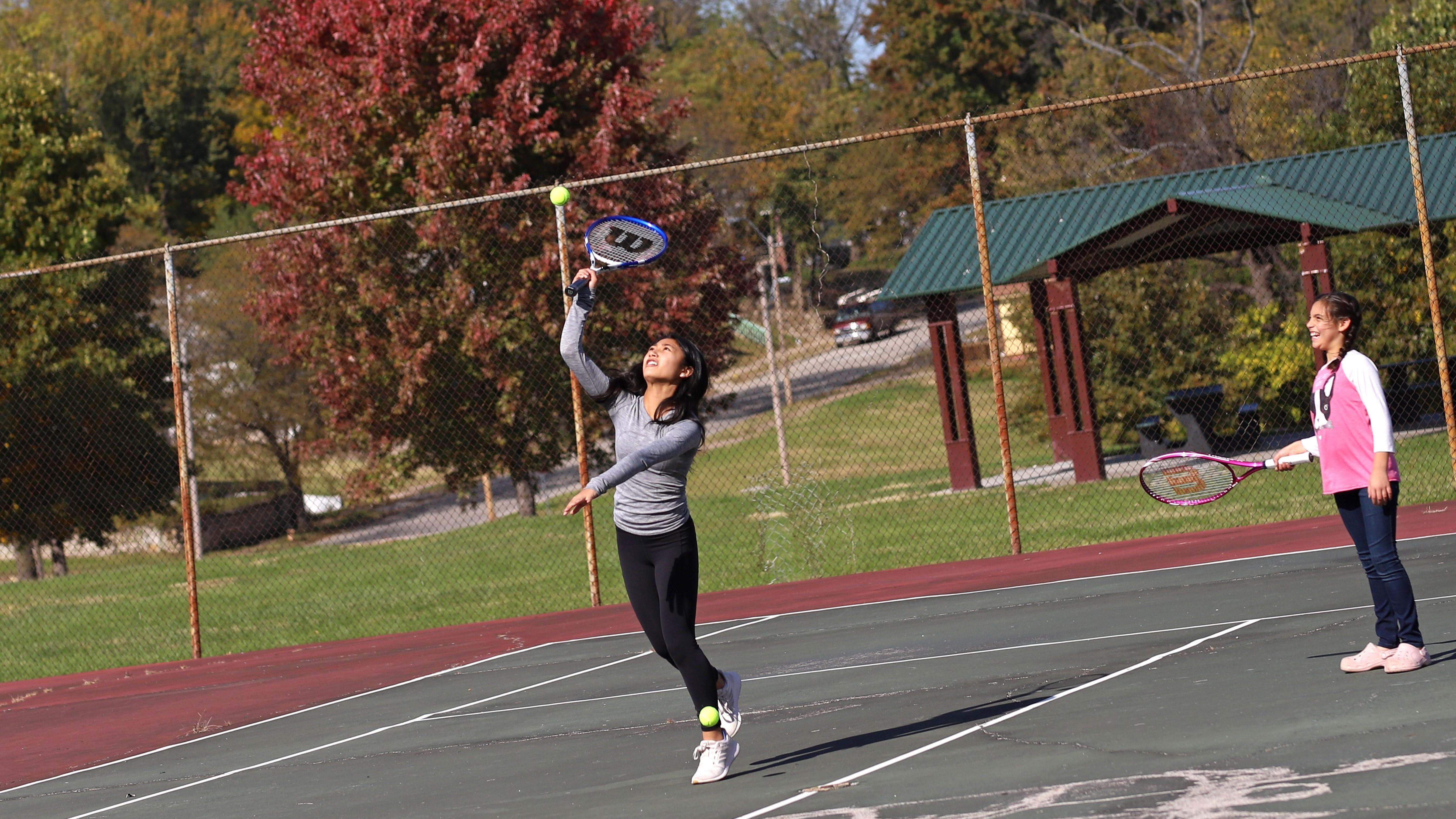 Ashland Square Park Tennis Courts