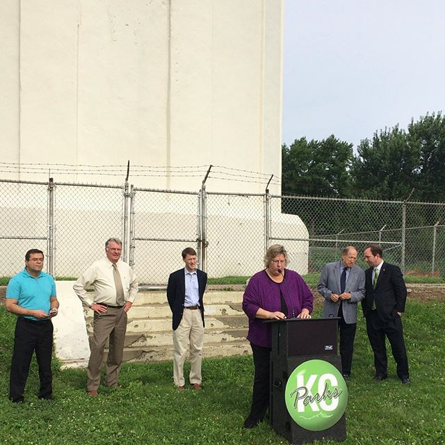 Tower Park Water Tower Phase II Restoration Kickoff