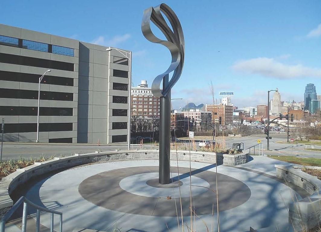 Sending Love aka Skywalk Memorial Sculpture