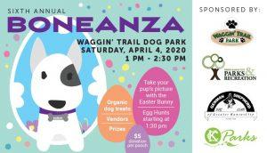 Sixth Annual Boneanza at Waggin Trail Dog Park