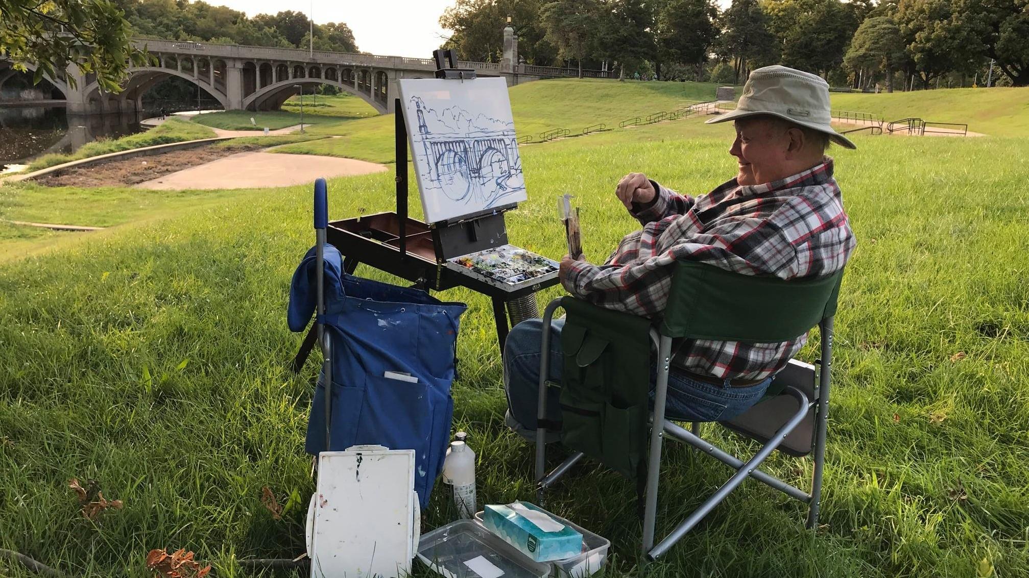 Brush Creek Art Walk this Weekend!