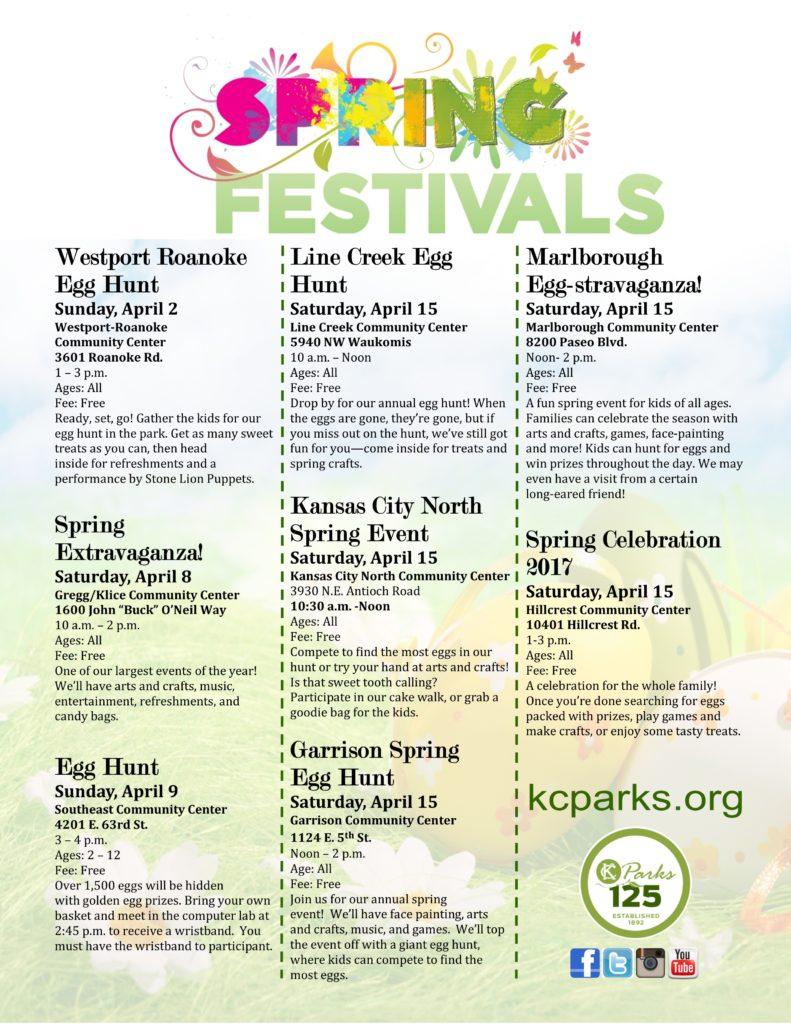 Spring Festivals 2017