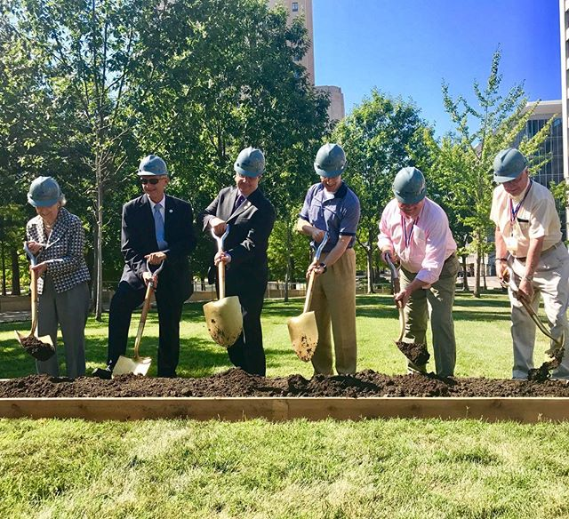 Ground Breaking for Native Sons and Daughters of KC Monument