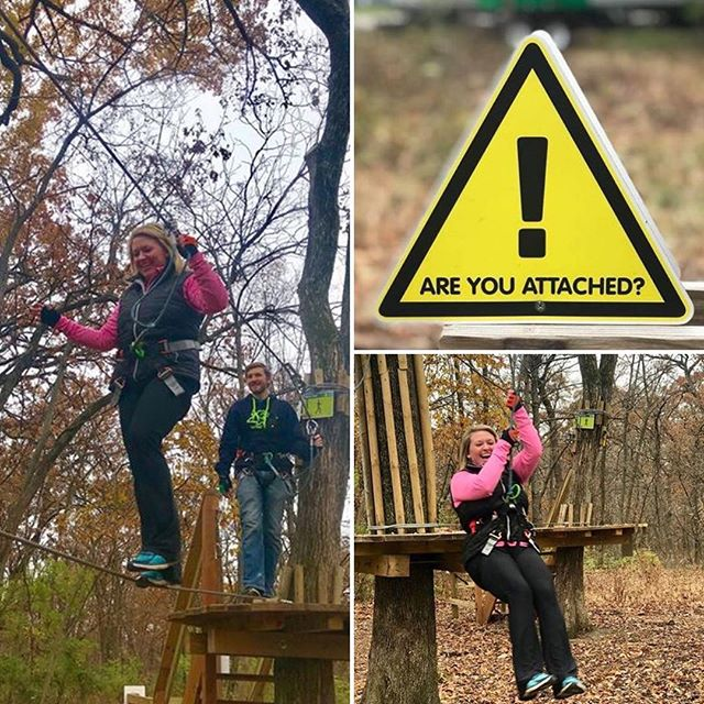 There's still time to enjoy @goapeusa in #KCParks Swope Park! Course closes the weekend after Thanksgiving. Watch for this feature on the #BetterKC Show November 22 on KCTV5.