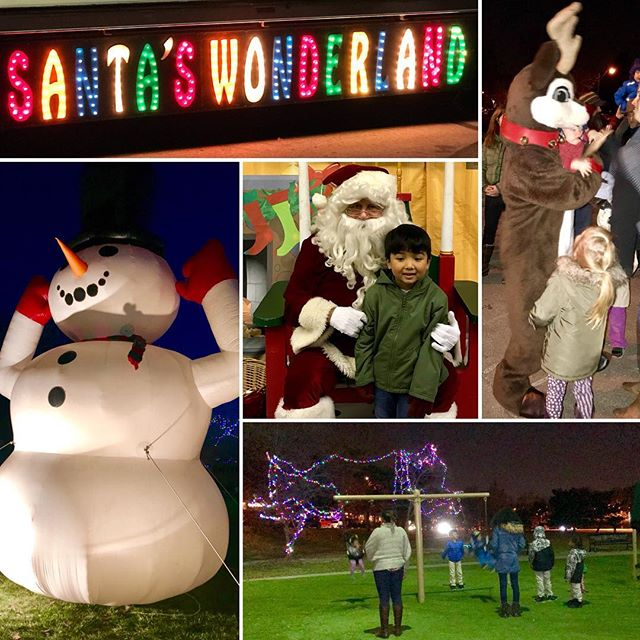 Great night! #KCParks #SantasWonderland returns tomorrow night to Penguin Park in the Northland. 🏻️