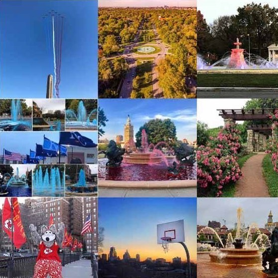#KCParks #BestOf2017 on #Instagram featuring National World War I Museum and Memorial City of Fountains Foundation #TBT Kansas City Royals The Kansas City Chiefs Kansas City Rose Society