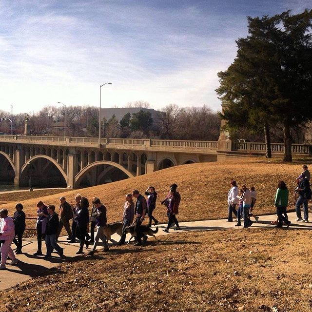Join us on Monday as we honor MLK Jr's legacy and enjoy the beauty of Brush Creek with a nature walk along the trail. Walk begins at 1pm from MLK Jr Park. #KCParks #MLKDay #mlkjrday #mlkday2018