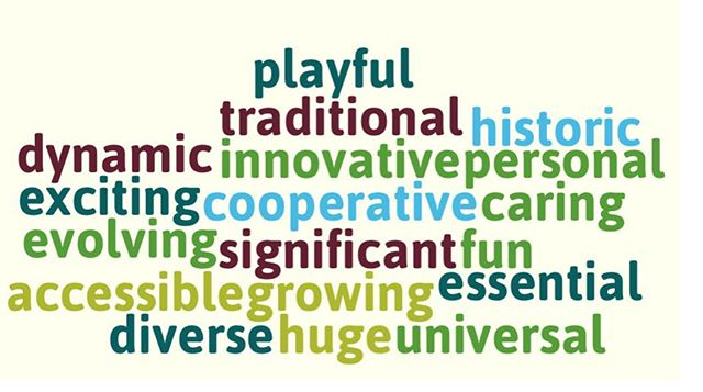 ‪From our Staff Planning Session: Describe #KCParks in one word. #WordCloud‬