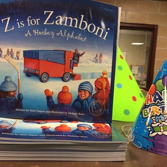 Get excited! Zamboni Birthday Party is tonight at #KCParks Line Creek Community Center from 6:30-8:30p! Free admission to public skating from 7-8:30p plus birthday treats. (Skate Rental $2). #KCParks #Zamboni