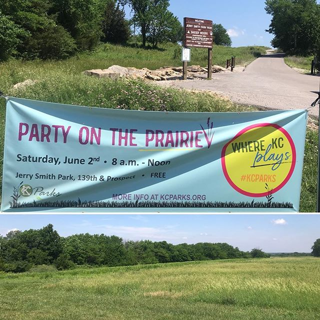 ‪It's a beautiful day for a #PartyOnThePrairie site visit. Join us on Saturday>>https://kcparks.org/event/party-on-the-prairie-2/ #KCParks #WhereKCPlays ‬
