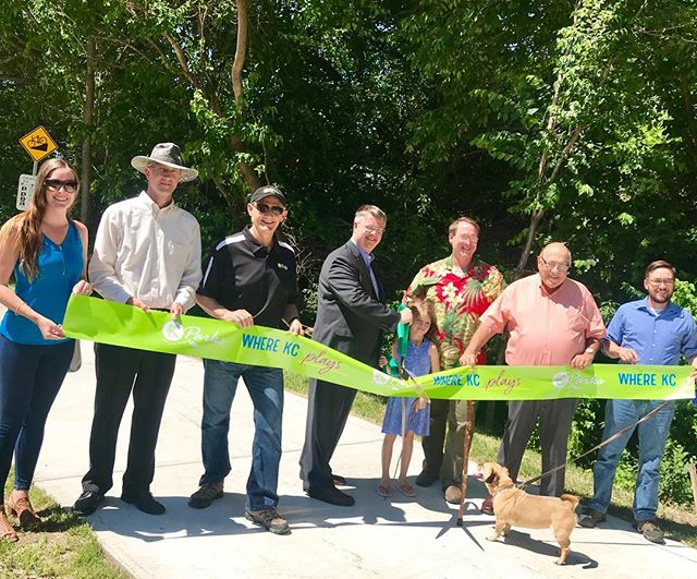 Cliff Drive & Spirit of KC Scenic Byways Trail Opening celebrate the new multipurpose trail connecting Cliff Drive to the City Market! #HistoricNortheast #KCParks #WhereKCPlays
