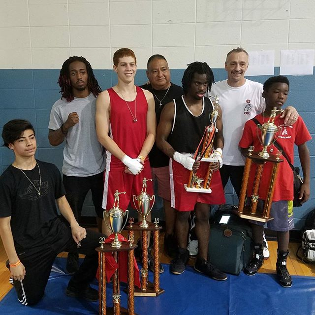 Congratulations! The Garrison boxing team traveled to Springfield Missouri to compete in the #GoldenGloves Tournament hosted by Smitty's Gym on Saturday, June 9. It was a great experience and opportunity for the KC kids to compete against boxers from Missouri and other states. The team once again was very successful with three boxers winning their weight class and one taking second. #KCParksProud