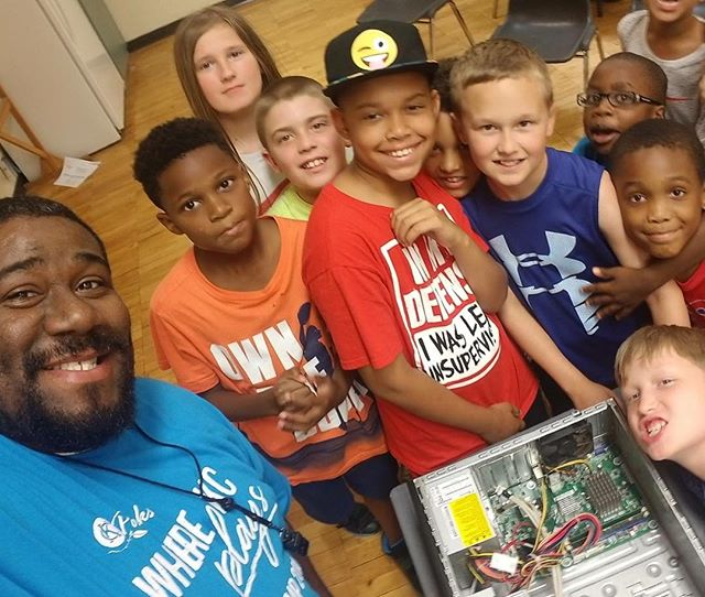 S.T.E.M.ulation Week Activities at KC North Community Center Summer Camp! #STEM #KCParks #WhereKCPlays