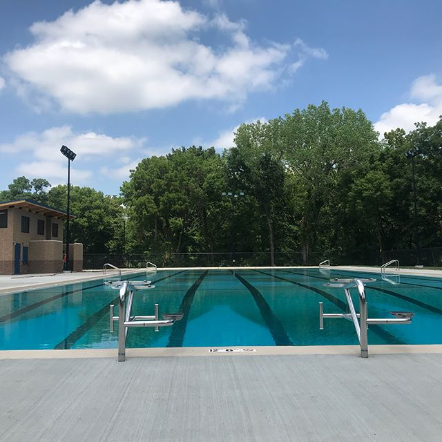 Gorman Pool is looking good! Opens July 4 from 11 a.m. -6 p.m. with free admission on Independence Day!! #KCParks #WhereKCPlays