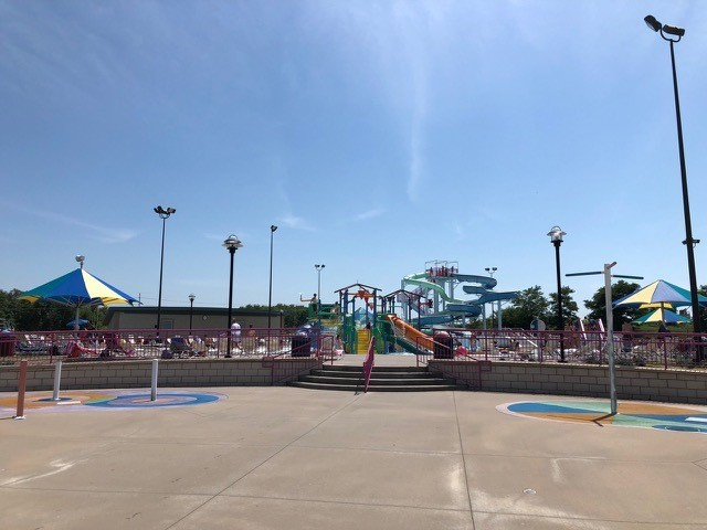 Beat the heat this weekend at The Springs Aquatic Center! #WhereKCPlays