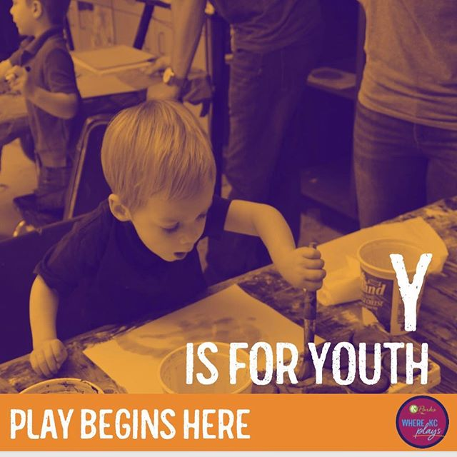 "July is Park and Rec Month! Celebrate playing with us each week during the month of July with a new theme. This week's theme is ""Y is for Youth"". Play begins here. #DiscoverJuly #WhereKCPlays"