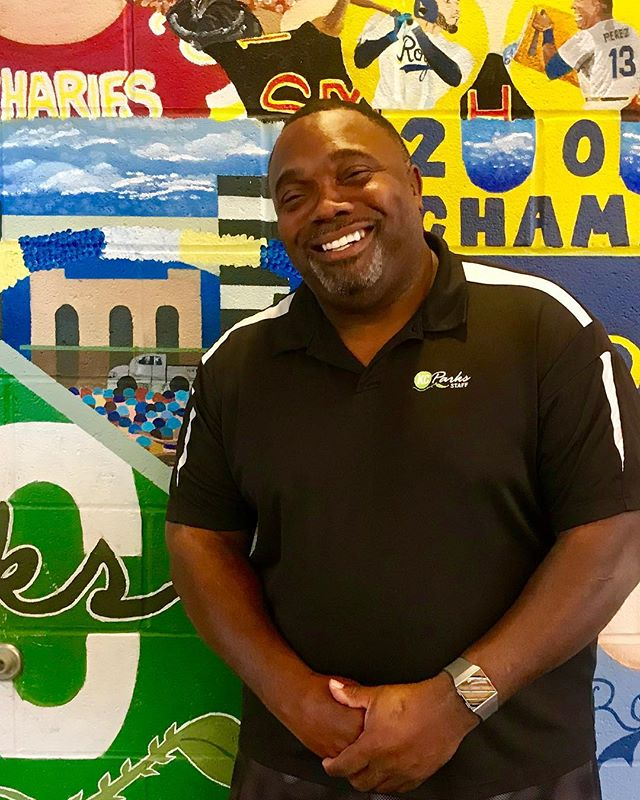 "During Park and Recreation Month we are focusing on our employees by featuring a #PlayerOfTheDay each day of July. #DiscoverJuly #KCParks #WhereKCPlaysOliver Hurd, Supervisor of Recreation-Marlborough Community Center, 23 years with KC Parks ""I enjoy working for Parks and Rec because we impact communities in a positive way through programs and events."""