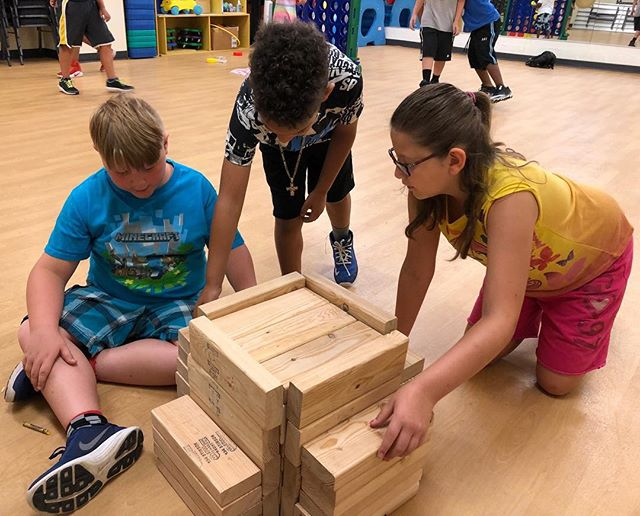 Children at Kansas City North Community Center spend their time playing with blocks. What do you play? #WhereKCPlays
