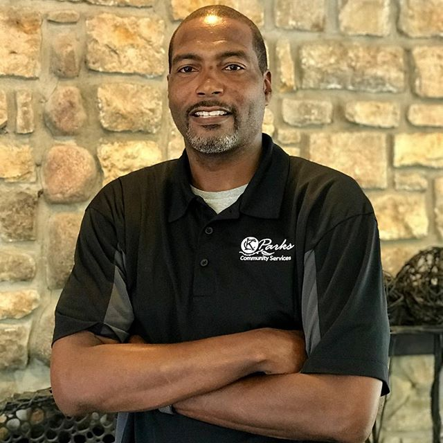 "During Park and Recreation Month we are focusing on our employees by featuring a #PlayerOfTheDay each day of July. #DiscoverJuly #KCParks #WhereKCPlaysKevin Kearney, Supervisor of Recreation-Hillcrest Community Center, 24 years with KC Parks ""I love working with Community Services because anytime you have the opportunity to improve quality of life and serve citizen of  Kansas City is a very rewarding experience."""