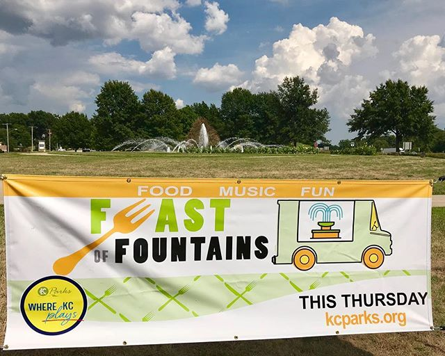 Tonight! Support our #CityOfFountains #Northland #Foodtrucks @cantaloupecity @kcpinoy #KCParks #WhereKCPlays