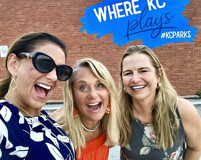 Hey #KCMO Head to the #WestBottoms and snap a #selfie with the #KCParks #WhereKCPlays mural! Next to EJ's Urban Eatery! #HowWeDoKC #CityOfMurals