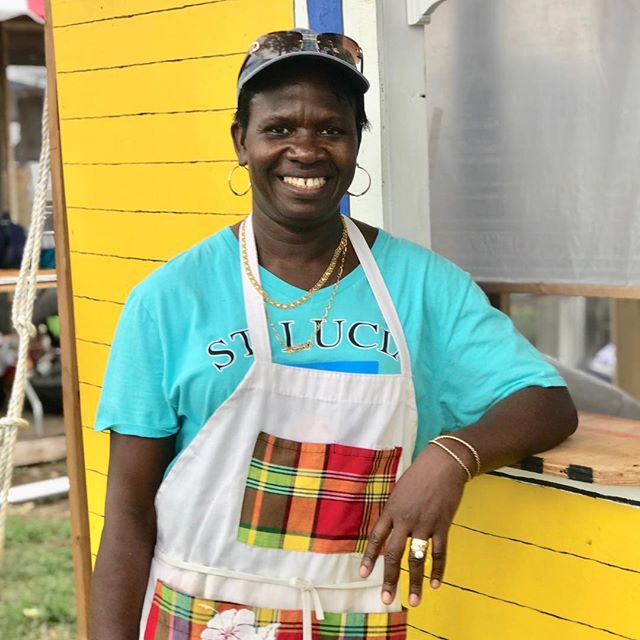Wendy Moonie is a chef from the Coconut Bay Beach Resort & Spa in Vieux Fort Lighthouse, St. Lucia who is here to cook at the Ethnic Enrichment Festival this weekend! Welcome to #KCMO! #HowWeDoKC