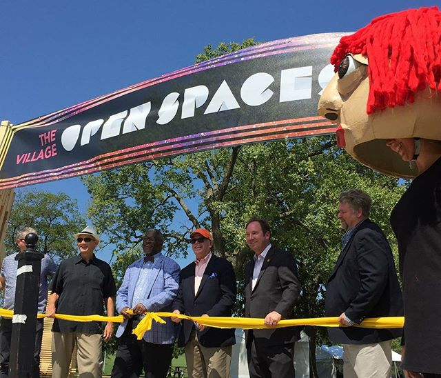 #OpenSpacesKC officially opened on Saturday and runs through October! #KCParks #WhereKCPlays