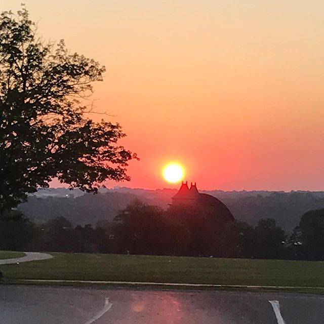 Sunrise in Swope Park. #KCParks #WhereKCPlays