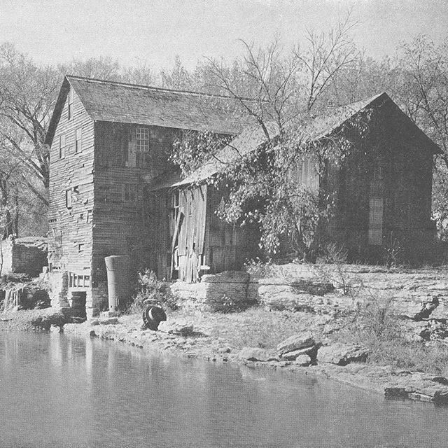 #ThrowbackThursday Watt's Mill at 103rd & State Line circa 1932 (it was built in 1832). See the remnants of the mill this Saturday at Revolving Green Around the Blue #KCParks #TBT #WhereKCPlays More at kcparks.org.histori