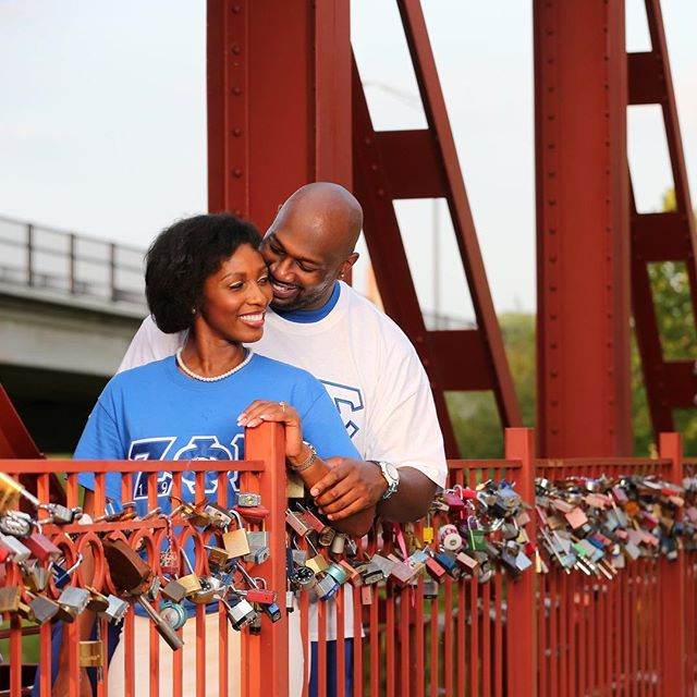 Celebrate #Locktober and support #KCParks! Purchase a #LoveLock from @lockitz01 during the month of October and a portion of sales will go to KC Parks! #WhereKCPlays #RedBridgeLoveLocks ️