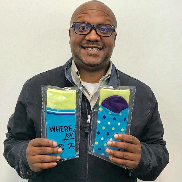 We've got socks! Purchase your custom #KCParks #WhereKCPlays socks ($16/pair) at Parks Administration, 4600 East 63rd St. Trfwy. today! Then #ShowUsYourSocks by tagging @KCMOParks on social media.