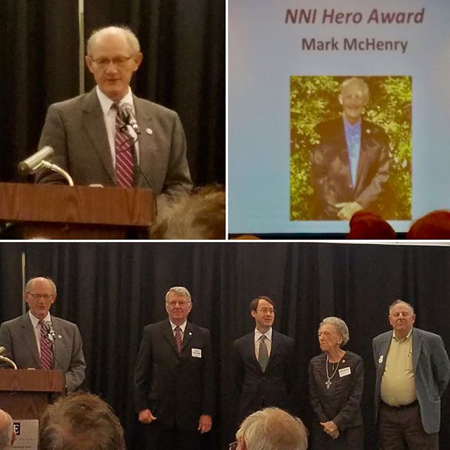 Northland Neighborhoods Inc recognized #KCParks Director Mark L. McHenry for his exceptional relationship with NNI, their neighborhoods and the Northland Community by presenting him the NNI Hero Award at their Annual Awards Breakfast. #KCParksProud