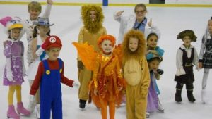 Ice Skating Halloween Party
