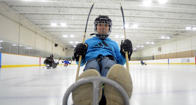 Try Sled Hockey at this Free