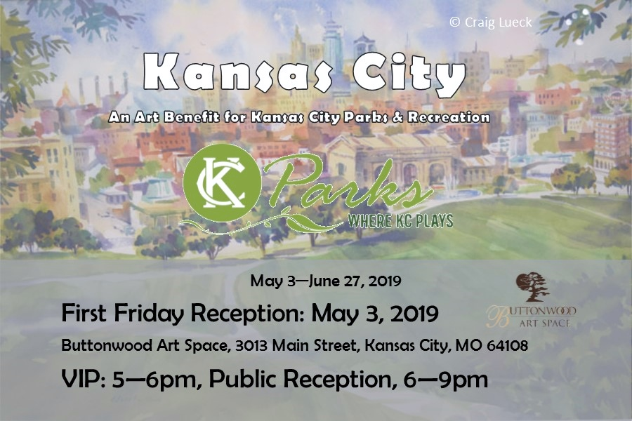 "KC Parks and Buttonwood Art Space Present ""Kansas City"" Exhibition & Sale"