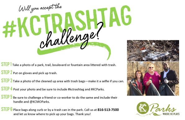 Take the #KCTrashtag Challenge!