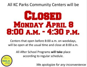 Closed for staff retreat 4-8-19