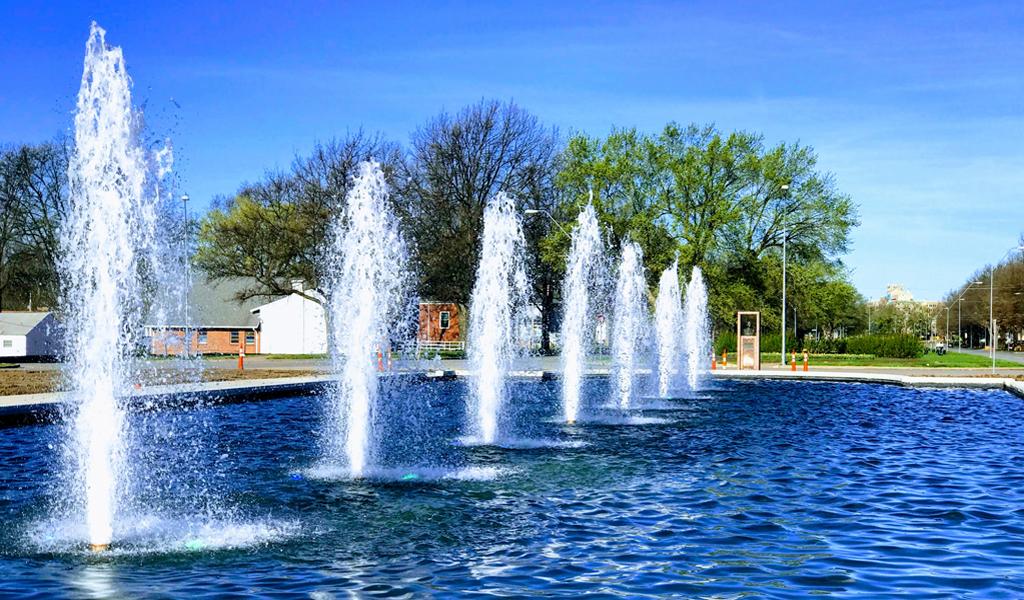 Haff Blue Fountain
