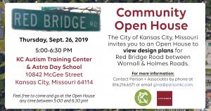 Red Bridge Road Kansas City Community Open House