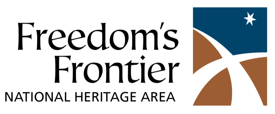Freedom's Frontier National Heritage Area logo