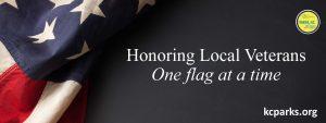 Honoring Local Veterans KC Parks Banner