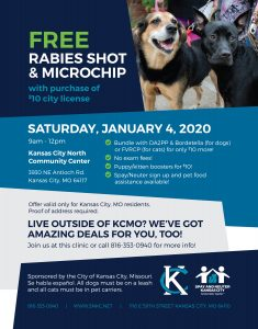 Free Rabies Shot and Micro Chip