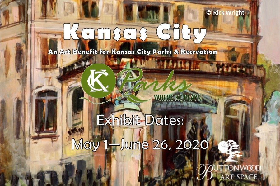 "KC Parks and Buttonwood Art Space Present Virtual ""Kansas City"" Exhibition & Sale"