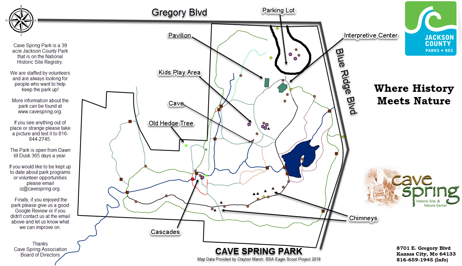 Cave-Spring-Park-Map
