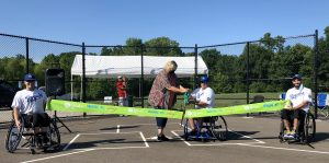 KC Parks Opens Area's First Wheelchair Softball Field in Pleasant Valley Park