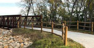 Little Blue Valley Park Trail Bridge