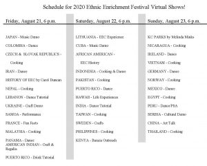 Virtual Ethnic Festival