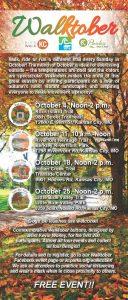 Walktober Schedule