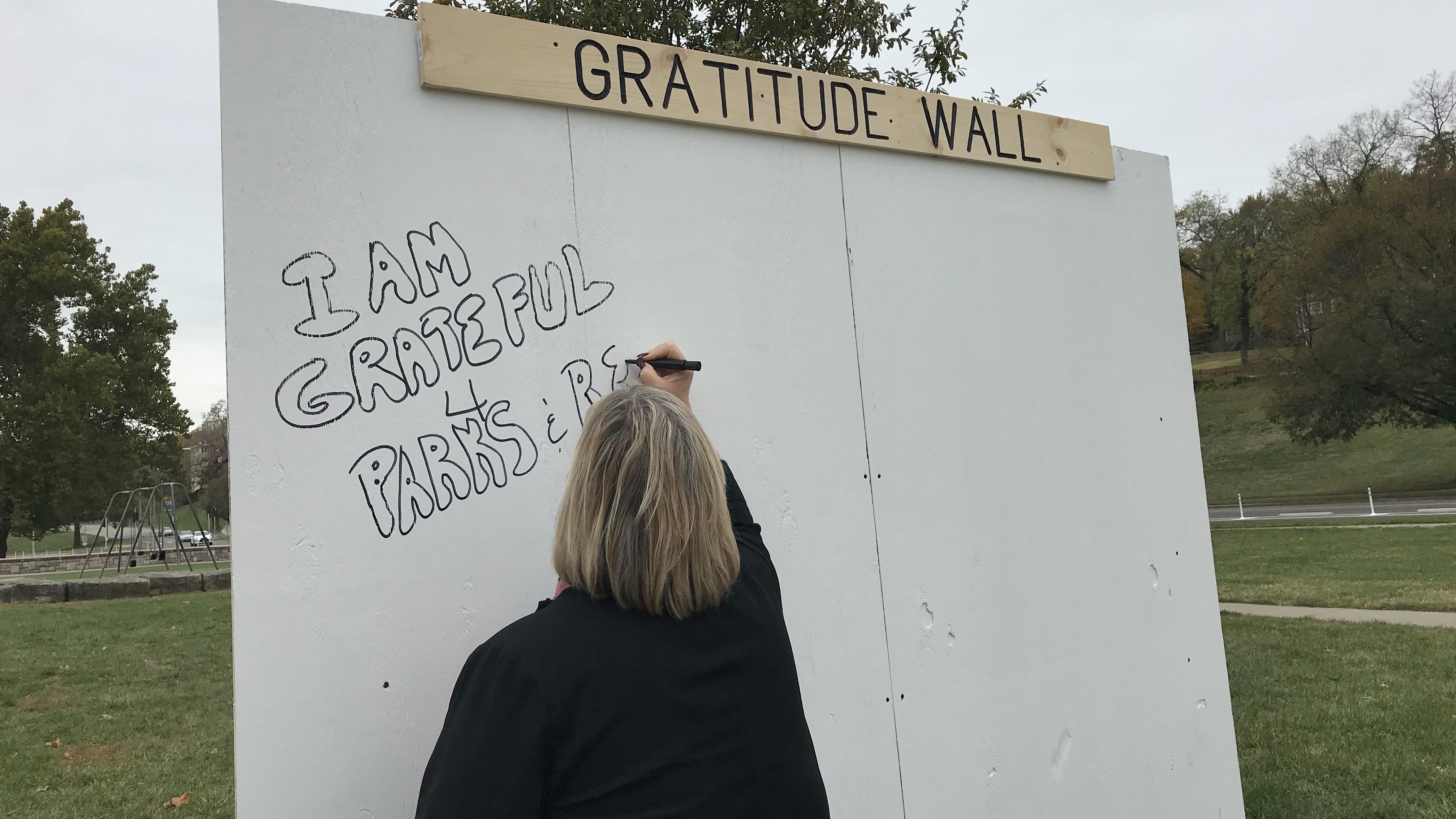 Gratitude Walls
