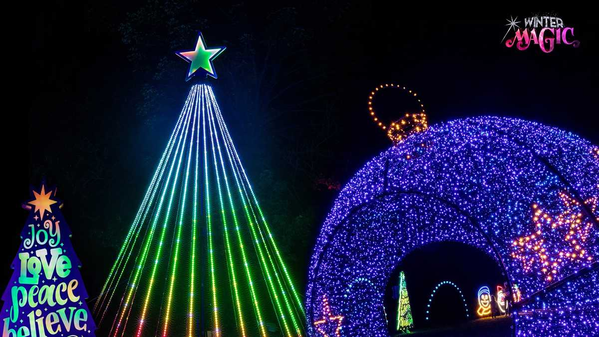 Join KC Parks for Winter Magic in Swope Park!